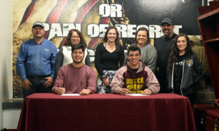 Eastern New Mexico University inks pair of Belen football players