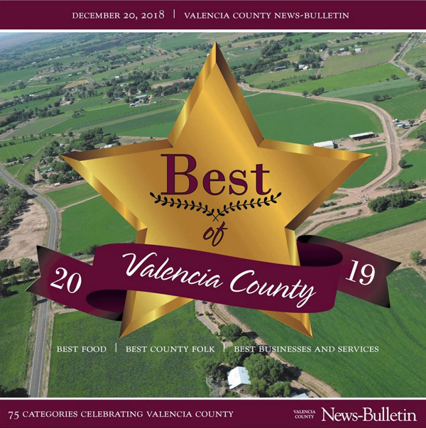 The Best of Valencia County 2019 has begun