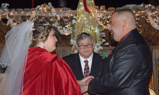 Wedding at the Bugg Lights Museum