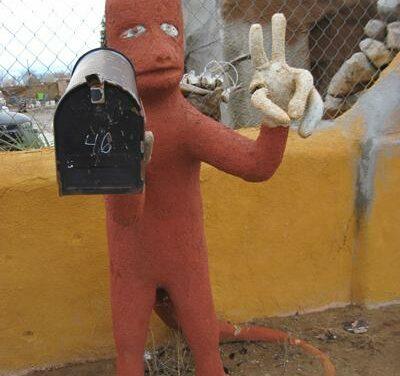 Weird, creative mailboxes in New Mexico