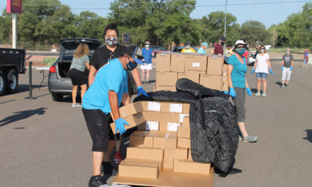 Ongoing food distributions in Bosque Farms