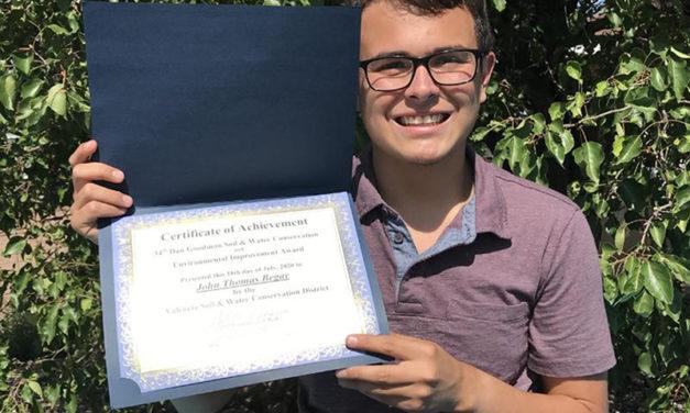 Three awarded Dan Goodman Scholarships