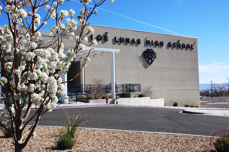 Los Lunas High School.