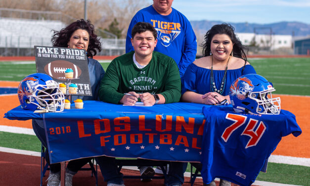 Christian Griego heads to play football at ENMU