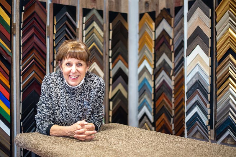 Susan Dubiel opens new framing business in Belen