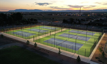 New Los Lunas tennis courts attracting players of all ages