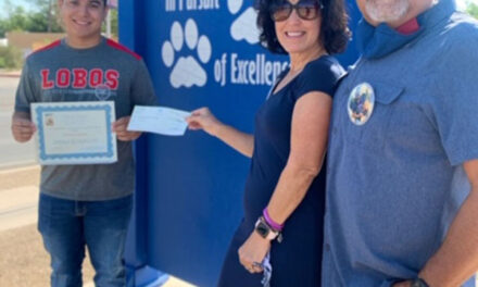 LLHS student awarded $1,000 memorial scholarship