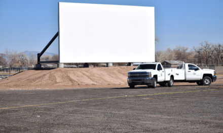Los Lunas drive-in completed; on hold — for now