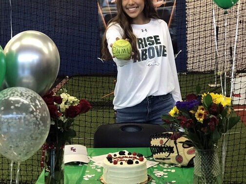Edyn Lopez signs to continue career at ENMU