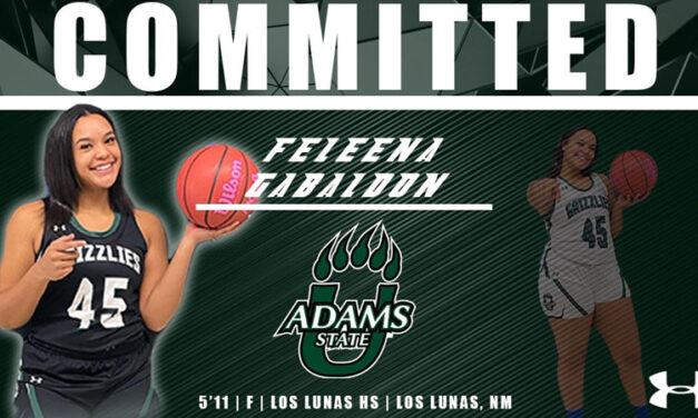 Feleena Gabaldon commits to Adams State University