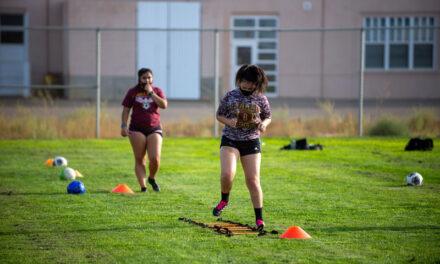 High school athletics return to workouts