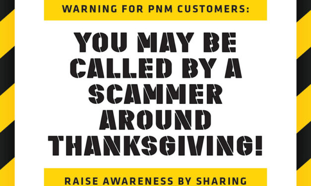PNM warns of phone scams targeting customers as Thanksgiving approaches