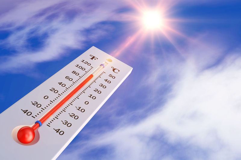 Alert for heat-stress