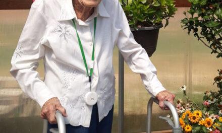 Celebrating 102nd birthday on Saturday