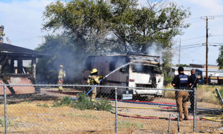 Belen vacant house fire possibly started by accident