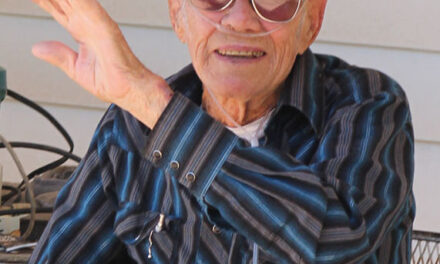 Family, friends and firefighters celebrate Tomé man's 96th birthday