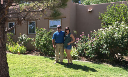 Los Chavez 'Yard of the Week' is an Oasis in the Desert