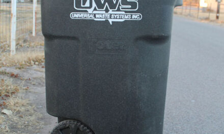 New trash hauler in Peralta