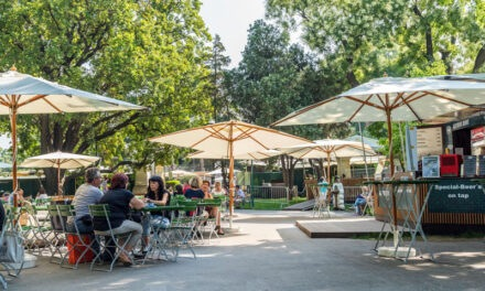 Restaurants may provide outdoor, patio services where available beginning Wednesday