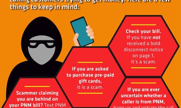 PNM warns of phone scammers targeting PNM customers on weekends