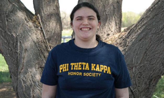 SODA student is a Phi Theta Kappa