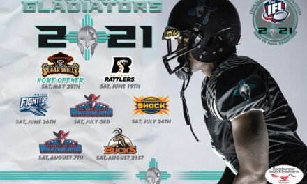 Duke City Gladiators announce 2021 IFL schedule