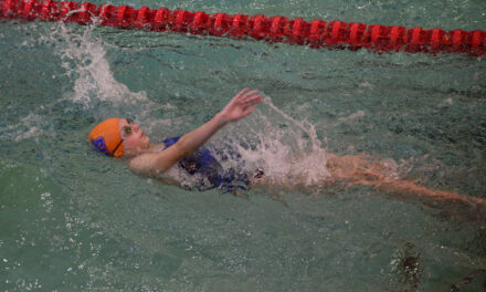Belen swimming finishes fourth in district meet