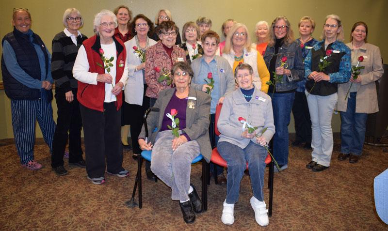 Belen Volunteers Honored