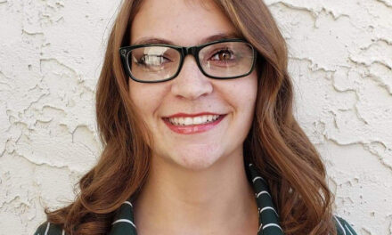 Rosela Lovato, of Los Lunas, chosen as Student of the Month at New Mexico State University