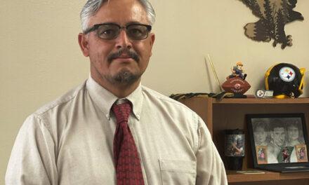 Aguirre is new Belen High School principal