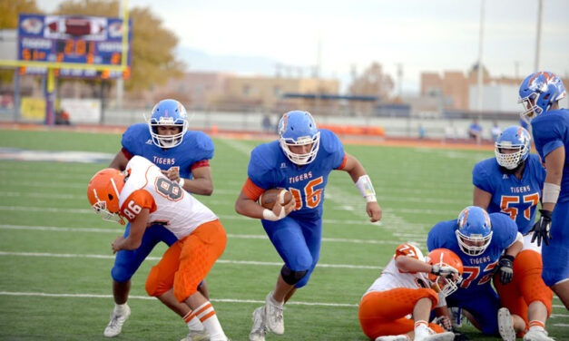 Bryce Santana excels on both sides of the ball for LLHS