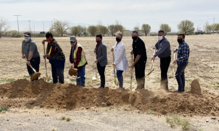Belen breaks ground for Eagle Park improvements