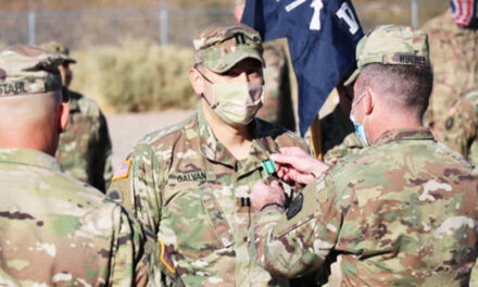 Local soldier was recently promoted