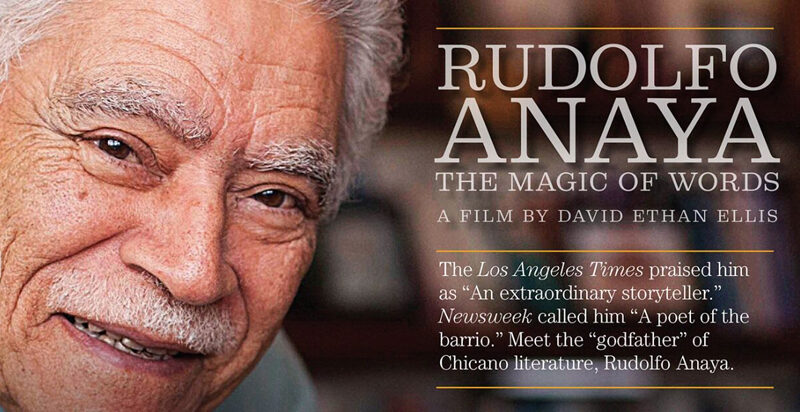 """Online, private showing of """"Rudolfo Anaya: The Magic of Words by David Ethan Ellis"""""""