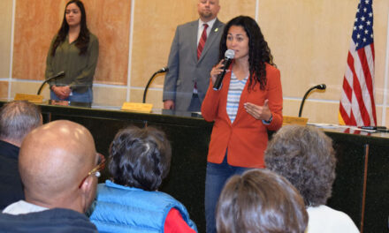 Rep. Torres Small comes to Hub City