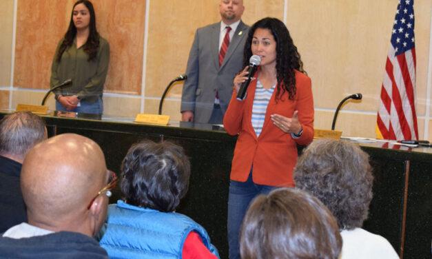 U.S. Rep. Xochitl Torres Small talks health care, veterans