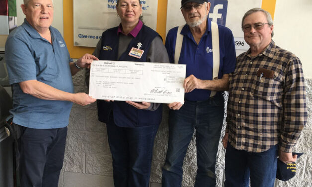 Valencia County Amateur Radio Club receives Walmart grant