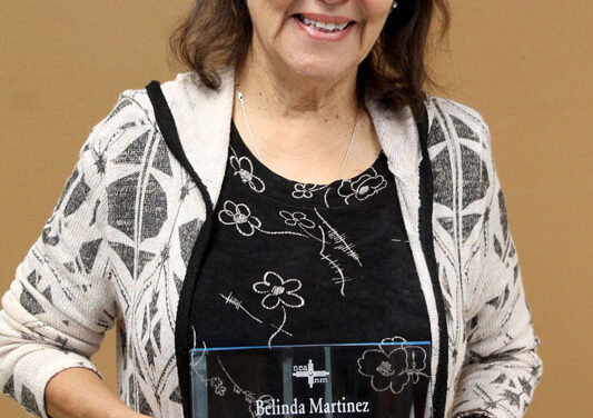 Belen teacher inducted into NEA Hall of Fame