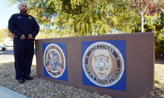 Getting to know your neighbor: Naithan Gurule: Los Lunas Police Chief, husband and father of six children