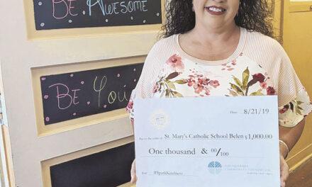 St. Mary's teacher awarded for kindness