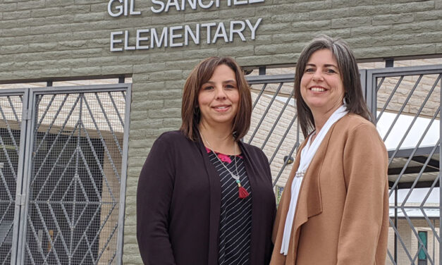 Gil Sanchez Elementary is nationally recognized for academics