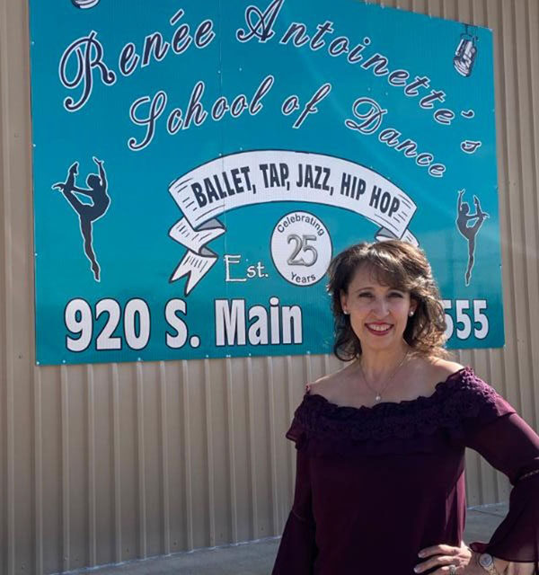 Teaching twirling, tap and more for 25 years at Renée Antoinette's School of Dance