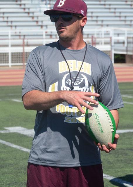 Ty House: Belen High School head football coach & family man