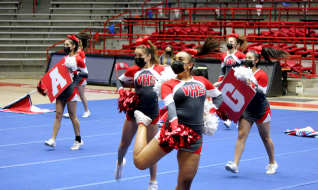 Valencia Jaguars finish fourth at state cheer championships