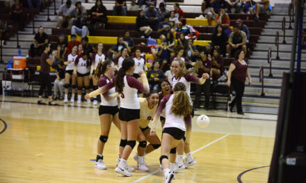 Belen volleyball tops Valencia to open district action