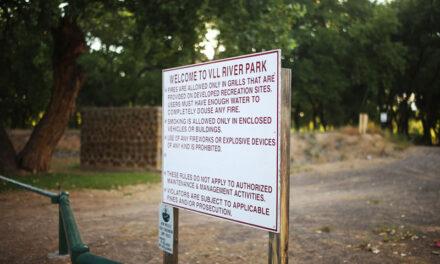 River cleanup at Los Lunas River Park on Saturday