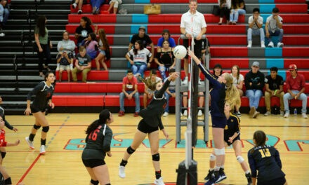 Valencia High volleyball falls to Santa Fe High in straight sets