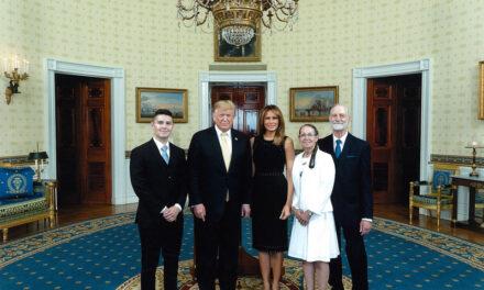 Longs visit White House, President Donald Trump