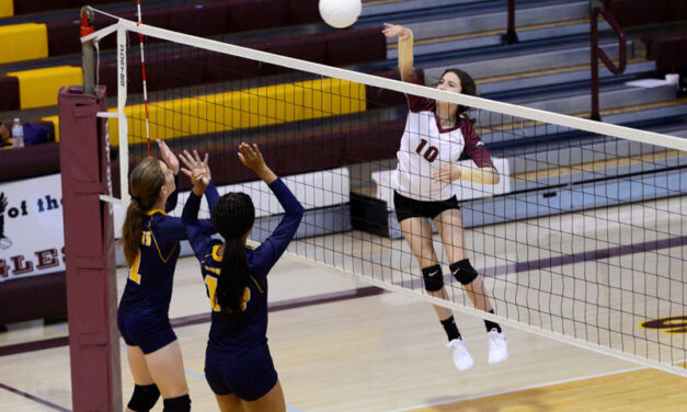 Belen High School volleyball beats Highland in straight sets
