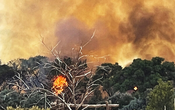 CEMETERY FIRE: Hundreds of acres of bosque burn in weekend fire
